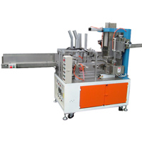 Automatic Paper Stacks Stuffing & Paper Box Gluing & Sealing Machine